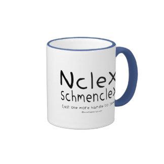 Examen del oficio de enfermera de NCLEX Schmenclex Tazas De Café