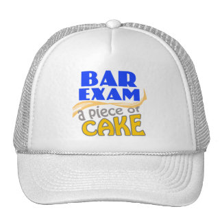 Examen para ejercer la abogacía - pedazo de torta gorras