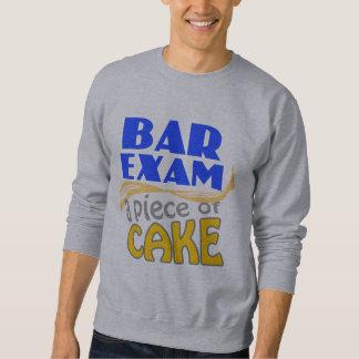 Examen para ejercer la abogacía - pedazo de torta suéter