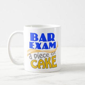 Examen para ejercer la abogacía - pedazo de torta taza clásica