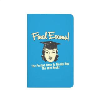 Exámenes finales: Finalmente compre el libro de te Cuadernos Grapados