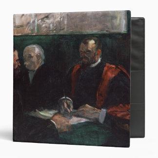 Examination at the Faculty of Medicine, 1901 3 Ring Binder