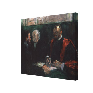 Examination at the Faculty of Medicine, 1901 Canvas Print