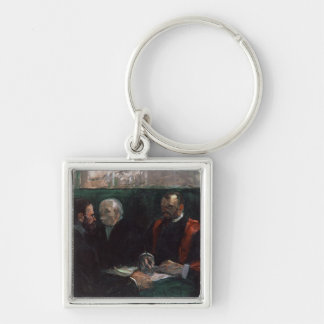 Examination at the Faculty of Medicine, 1901 Keychain