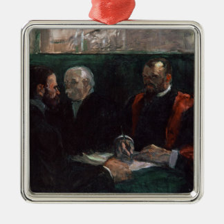 Examination at the Faculty of Medicine, 1901 Metal Ornament