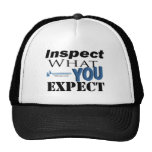 Examine lo que usted espera gorra