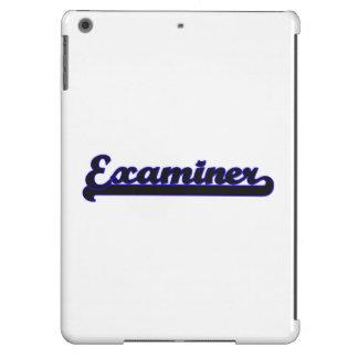 Examiner Classic Job Design iPad Air Case