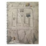 Examining an Assyrian Rock Sculpture, from 'Discov Notebooks