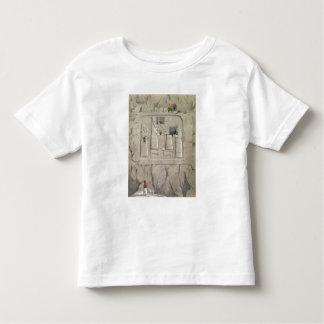 Examining an Assyrian Rock Sculpture, from 'Discov Tee Shirt
