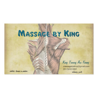 example for King Tommy Business Card Template