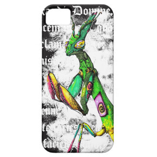 Exaudi Domine Flower Mantis Phone Case - White