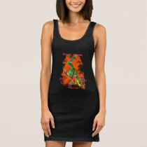 Exaudi Domine Punk Flower Mantis Slim Dress
