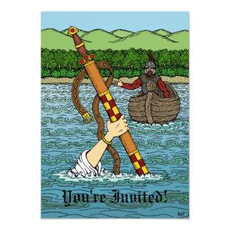 Excalibur and Arthur Card