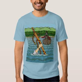 Excalibur and Arthur T-shirt