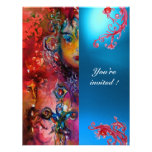 EXCALIBUR gem bright red ,pink blue orange blue Personalized Announcements