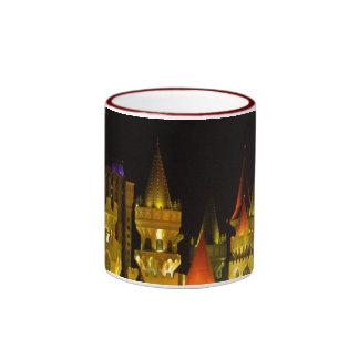 Excalibur Hotel and Casino at Night mug