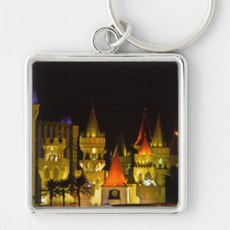 Excalibur Hotel and Casino square keychain