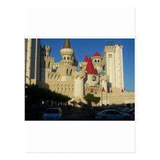 Excalibur Hotel Postcard
