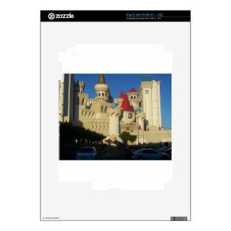 Excalibur Hotel iPad 2 Skin