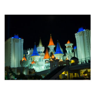 Excalibur Las Vegas Photo Postcards