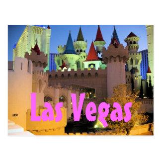 Excalibur Las Vegas Postcard