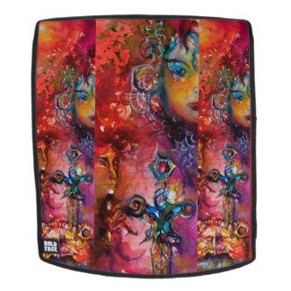 EXCALIBUR /Magic Sword  Red Purple Fantasy Backpack