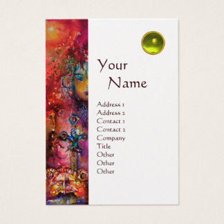 EXCALIBUR MONOGRAM metallic pearl Business Card