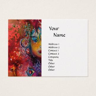 EXCALIBUR monogram pearl paper Business Card