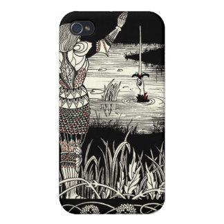 Excalibur que sube del lago iPhone 4/4S fundas
