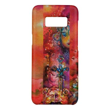 Halloween Themed EXCALIBUR /QUEEN OF MAGIC SWORD Red Yellow Fantasy Case-Mate Samsung Galaxy S8 Case