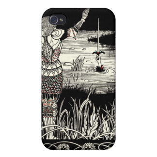 Excalibur Rising from  the Lake iPhone 4 Covers