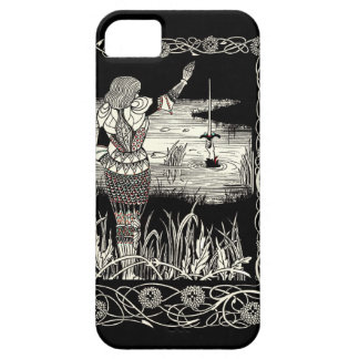 Excalibur Rising from  the Lake iPhone SE/5/5s Case