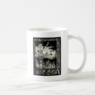 Excalibur Rising from  the Lake Coffee Mug
