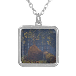 Excalibur Silver Plated Necklace