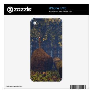 Excalibur iPhone 4S Decals