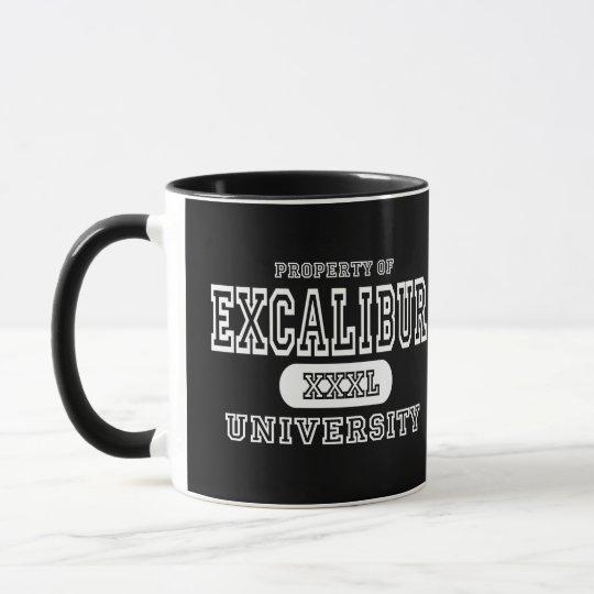 Excalibur University Dark Mug