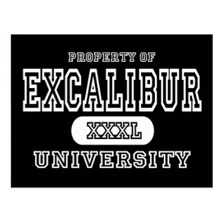 Excalibur University Dark Postcard