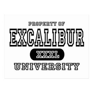 Excalibur University Postcard