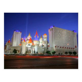 Excalibur Vegas Resort Postcard