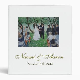 Excanging vows - binder