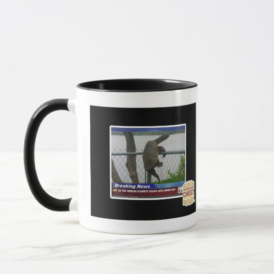 Excaping Turtle Mug