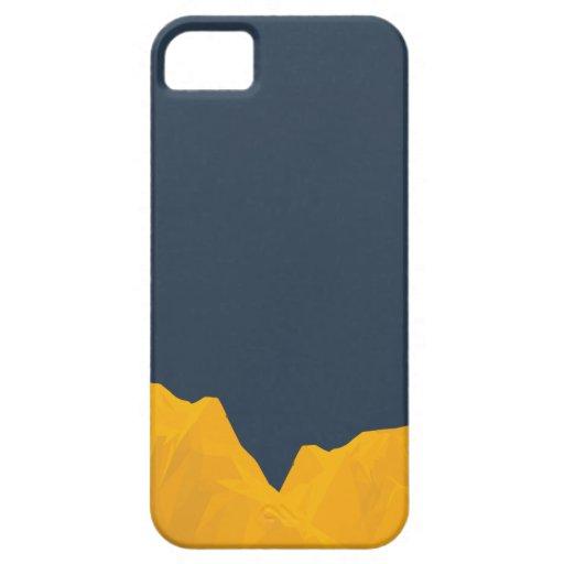 Excavación para el oro iPhone 5 carcasa
