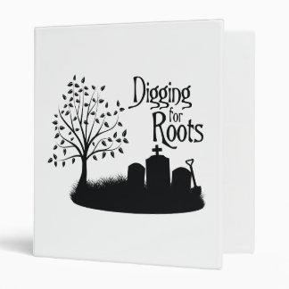 Excavación para las raíces