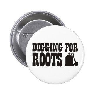 Excavación para las raíces pin redondo 5 cm