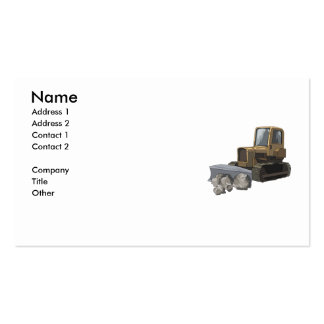excavacting business card