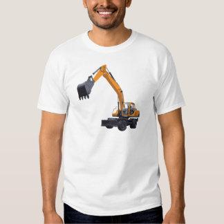 Excavador de la construcción camisas