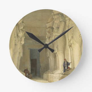 """Excavated Temple of Gysha, Nubia, from """"Egypt and Round Wallclocks"""