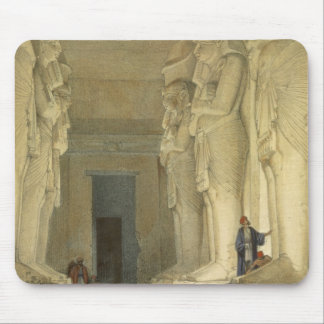 """Excavated Temple of Gysha, Nubia, from """"Egypt and Mouse Pad"""