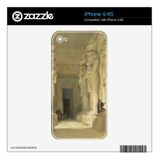 """Excavated Temple of Gysha, Nubia, from """"Egypt and Decal For iPhone 4"""