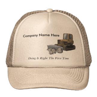 Excavating Company Slogan Hat
